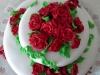 výtvarně-cukrářská díla Jany- svatební dort